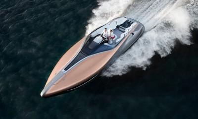 Futuristični Lexusov gliser gre v proizvodnjo