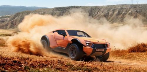 Puščavski dirkač
