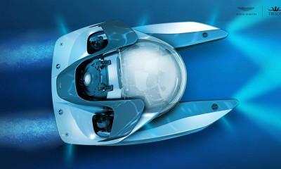 Podmornica s podpisom Aston Martina