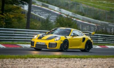 911 GT2 RS podrl rekord na Nürburgringu