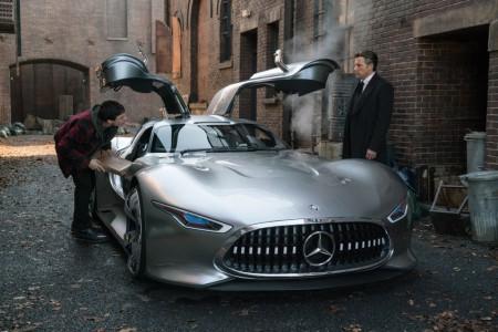 Superheroji vozijo Mercedesa