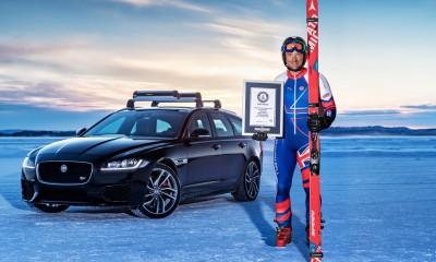 Jaguar podrl nov Guinnessov rekord