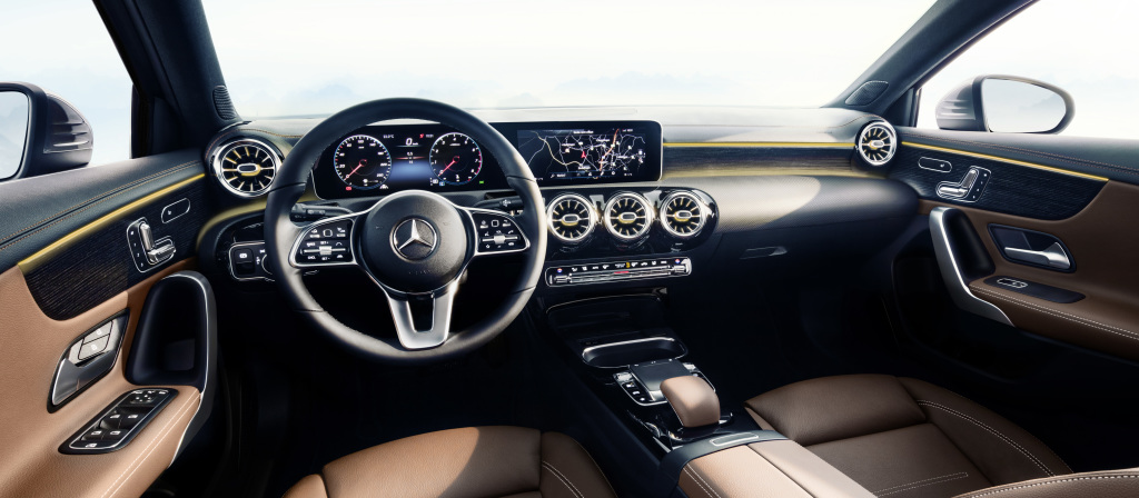 Mercedes-Benz A-Klasse, Interieur   Mercedes-Benz A-Class interior