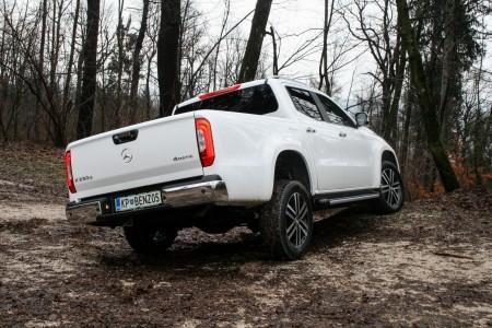 Mercedesov pick-up se predstavi