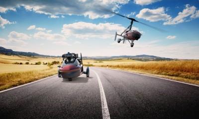 Čisto pravi leteči avtomobil