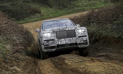 Rolls-Royce Cullinan bo razkrit 10. maja