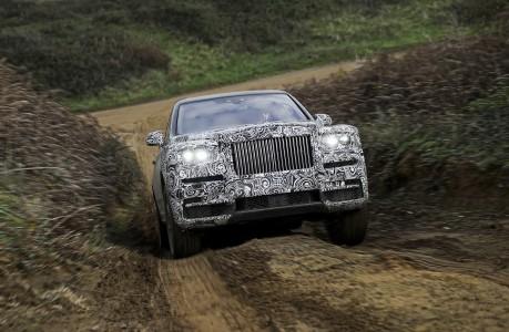 Rolls-Roycev SUV bo Cullinan