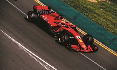 Vettel s pomočjo VSC do prve zmage v sezoni 2018
