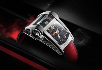 Unikatna ura za unikaten avto
