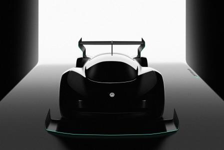 VW razkriva divji električni dirkalnik