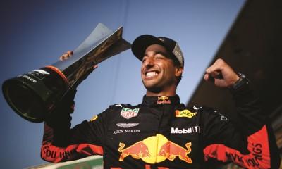 Varnostni avto najbolje izkoristil Red Bull