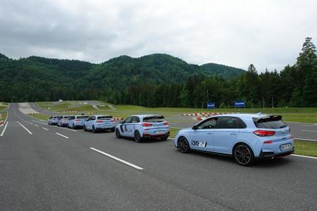 Rojen v Namyangu, preizkušen na Nürburgringu