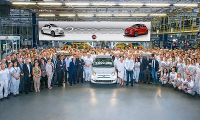 Iz tovarne zapeljal dvamilijonti Fiat 500