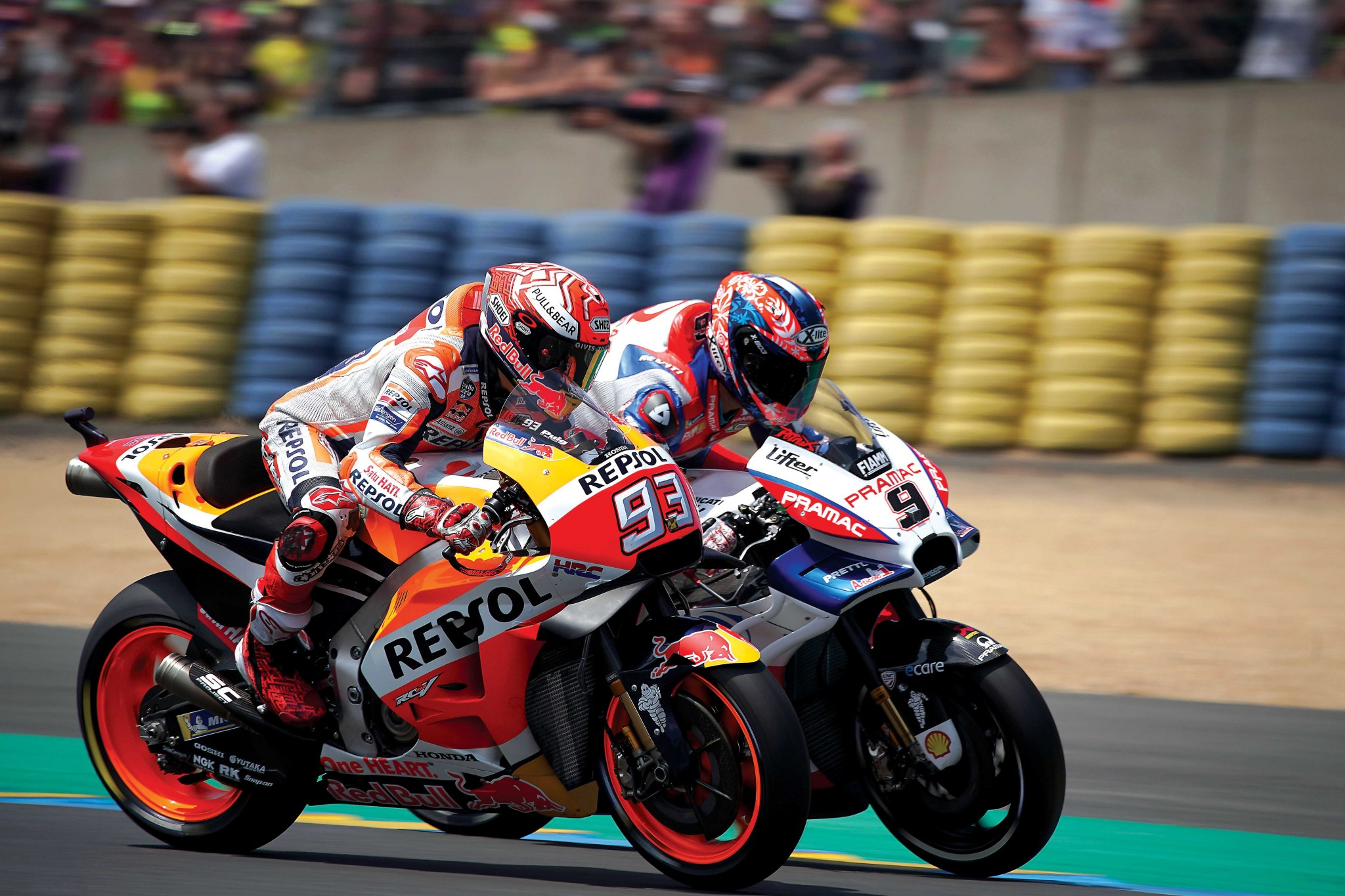 marc-marquez-and-danilo-petrucci-french-gp