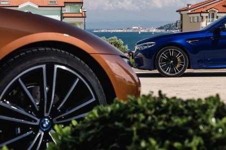 Ekskluzivna predstavitev M5 in i8 Roadster