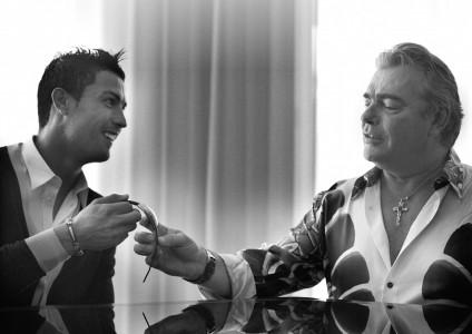 Ronaldo prejel unikatno uro Franck Muller