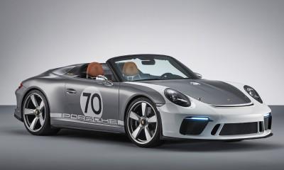 Porschejev puristični roadster