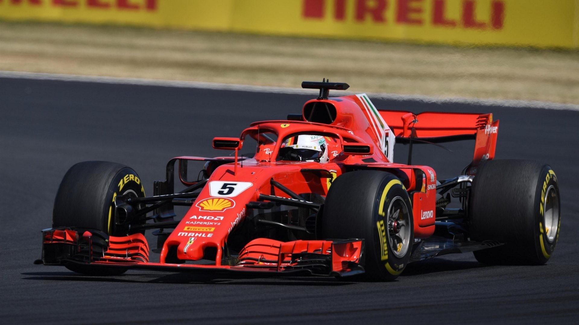 Vettel vknjižil novo zmago na VN Velike Britanije