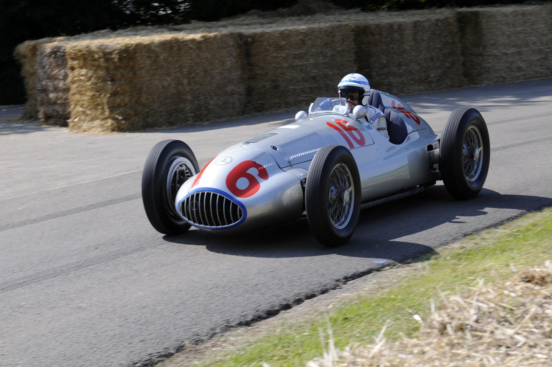 Mercedesove klasike v Goodwoodu