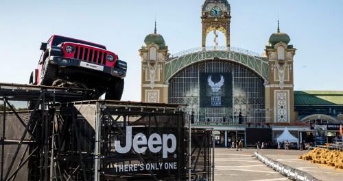 Jeep praznoval skupaj s Harleyjem