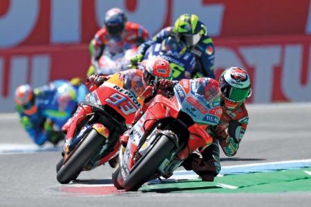 Na eni najboljših dirk zmagoslavni Marquez