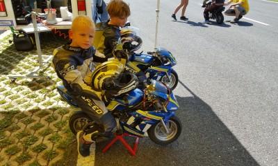 Motošportni dan za otroke na Vranskem