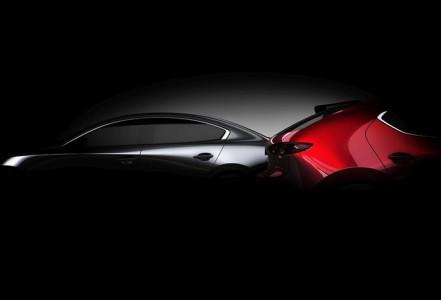 Mazda3 razkrita konec meseca
