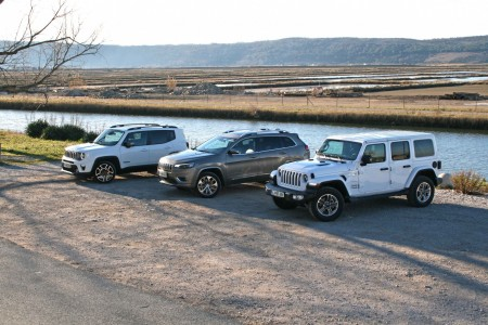 Trojček Jeepovih novosti
