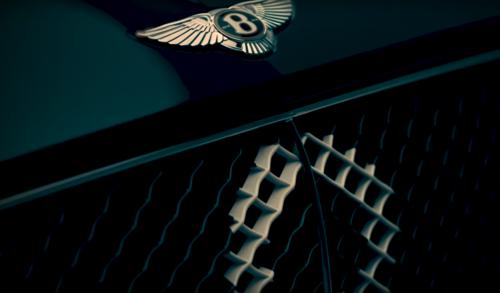 Poseben Bentley v poklon stoletnici