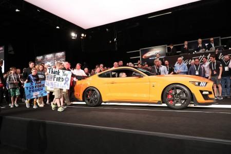 Najmočnejši Ford prodan za milijon evrov