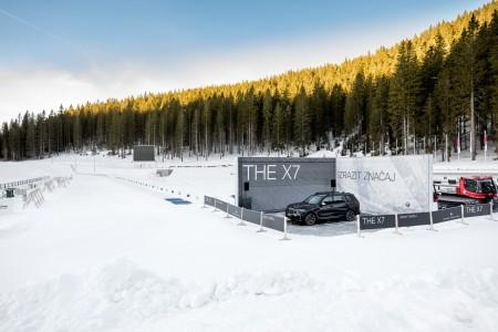 Zimske radosti na zimski areni BMW xDrive