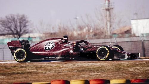 Razkriti dirkalniki F1