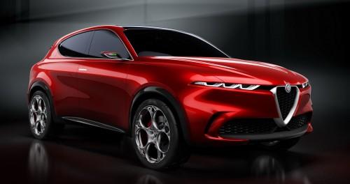 Atraktivni hibridni SUV Alfa Romeo