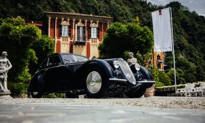 Med starodobniki slavila Alfa Romeo iz leta 1937