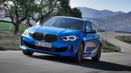 BMW-jeva serija 1 prvič s prednjim pogonom
