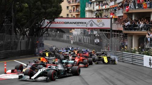 Hamiltonu tretjič Velika nagrada Monaka