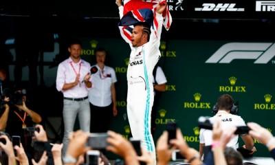 Izjemna dirka v Silverstonu prinesla zmago Hamiltonu