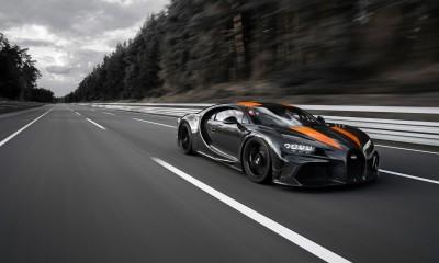 483 km/h z Bugatti Chironom
