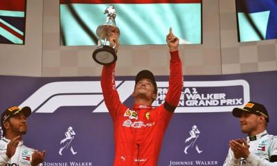 Prvenec Leclerca v Spa-Francorchampsu