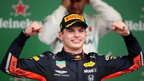 Verstappen zmagovalec dramatične dirke v Braziliji