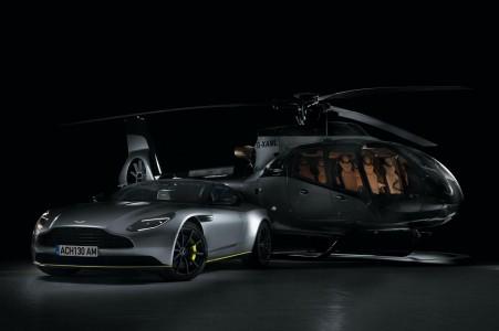 Leteči Aston Martin