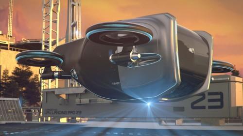 Slovenci verjamejo, da bodo v prihodnosti z avtomobili leteli po zraku
