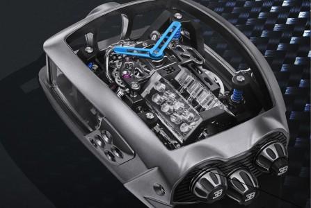 Ekskluzivno zapestno okrasje Bugattija