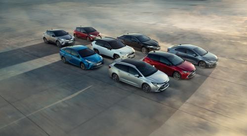 Toyota je največji svetovni avtomobilski proizvajalec