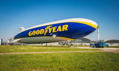 Goodyearov cepelin se vrača na evropsko nebo