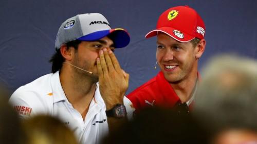 Alonso v Renault, Sainz v Ferrari, Ricciardo v McLaren, Vettel brez pogodbe