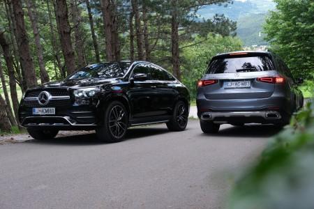 Mercedesova bogata SUV-paleta