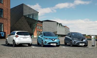 V Evropi prodanih 300.000 električnih Renaultov
