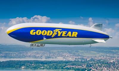 Povratek zračnega plovila Goodyear Blimp v motošport