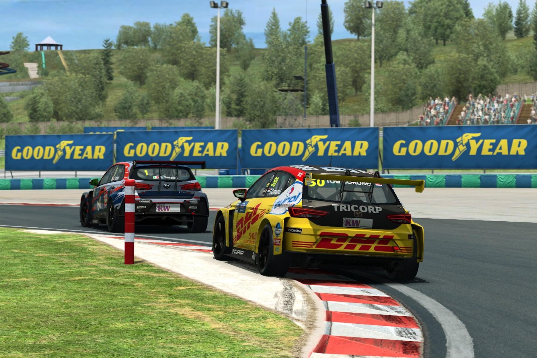 Poleti se je v svetu e-športa odvilo tudi virtualno prvenstvo WTCR